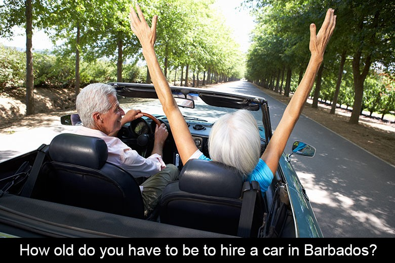 seniors driving in barbados