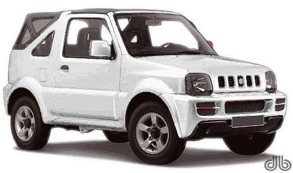 small soft top jimny jeep rentals drive barbados. Black Bedroom Furniture Sets. Home Design Ideas