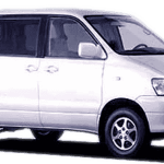 Barbados Car Hire - Toyota Noah