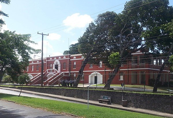 st Anns fort historic Garrison Savannah Barbados