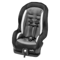gray car seat for 4 years old kids